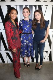 Rowan Blanchard - Vanity Fair Social Club For Emmy Weekend in Culver City 09/17/2016