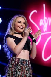 Sabrina Carpenter - Performs During WE Day Minnesota in St Paul 9/20/2016