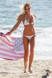 Samantha Hoopes Hot in Bikini on the Malibu Coast 9/4/2016