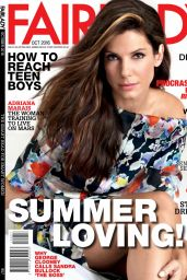 Sandra Bullock - Fairlady Magazine October 2016 Issue