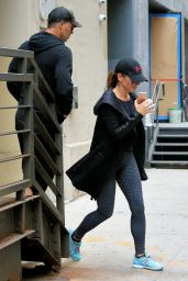 Sandra Bullock in Spandex - Out in NY 9/6/2016