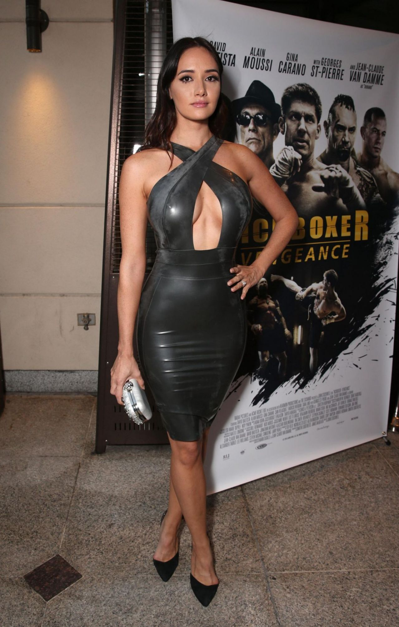 Sara Malakul Lane Kickboxer Vengence Premiere In Hollywood