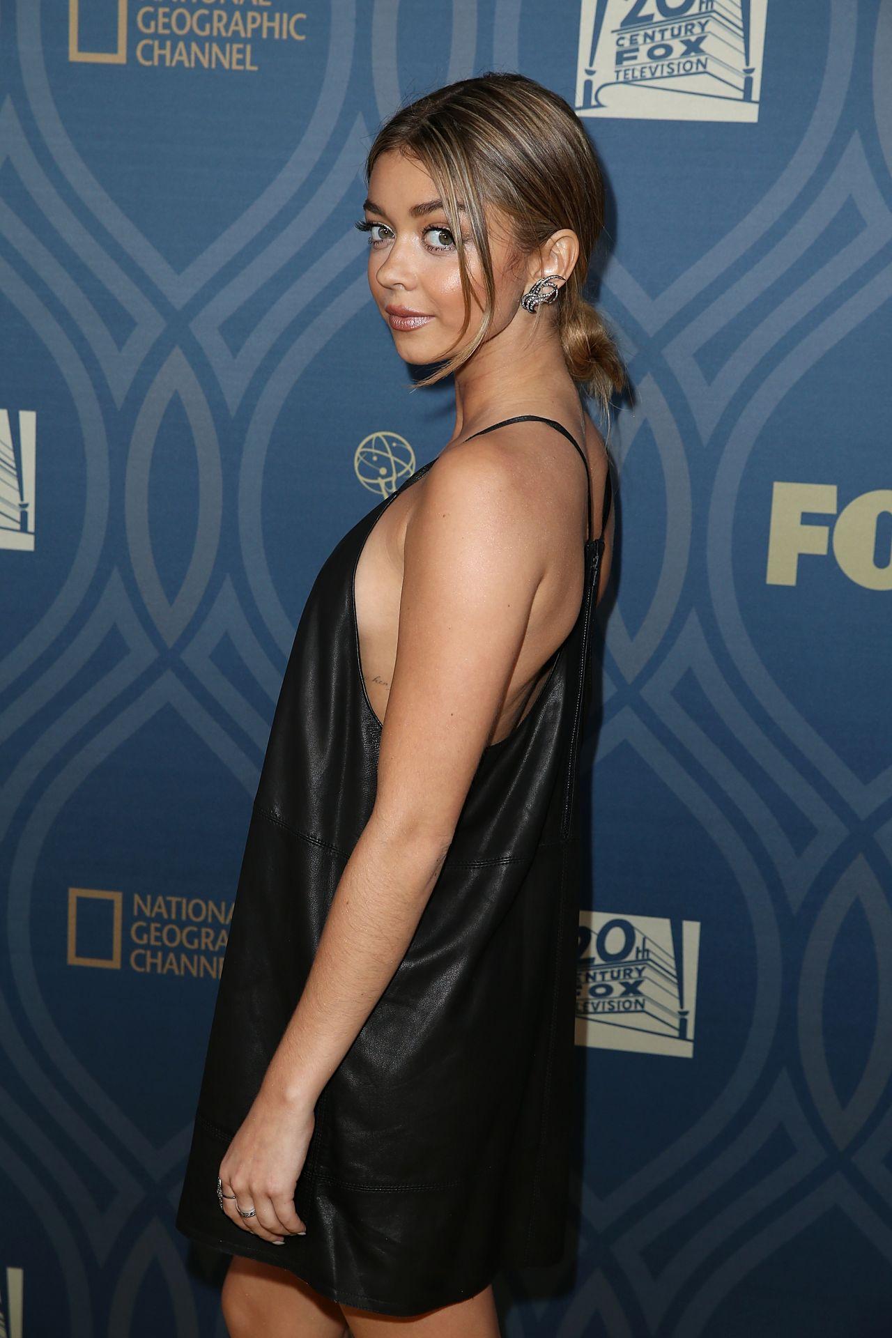 Sarah Hyland Dress Emmys