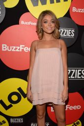 Sarah Hyland - The Buzzies, BuzzFeed
