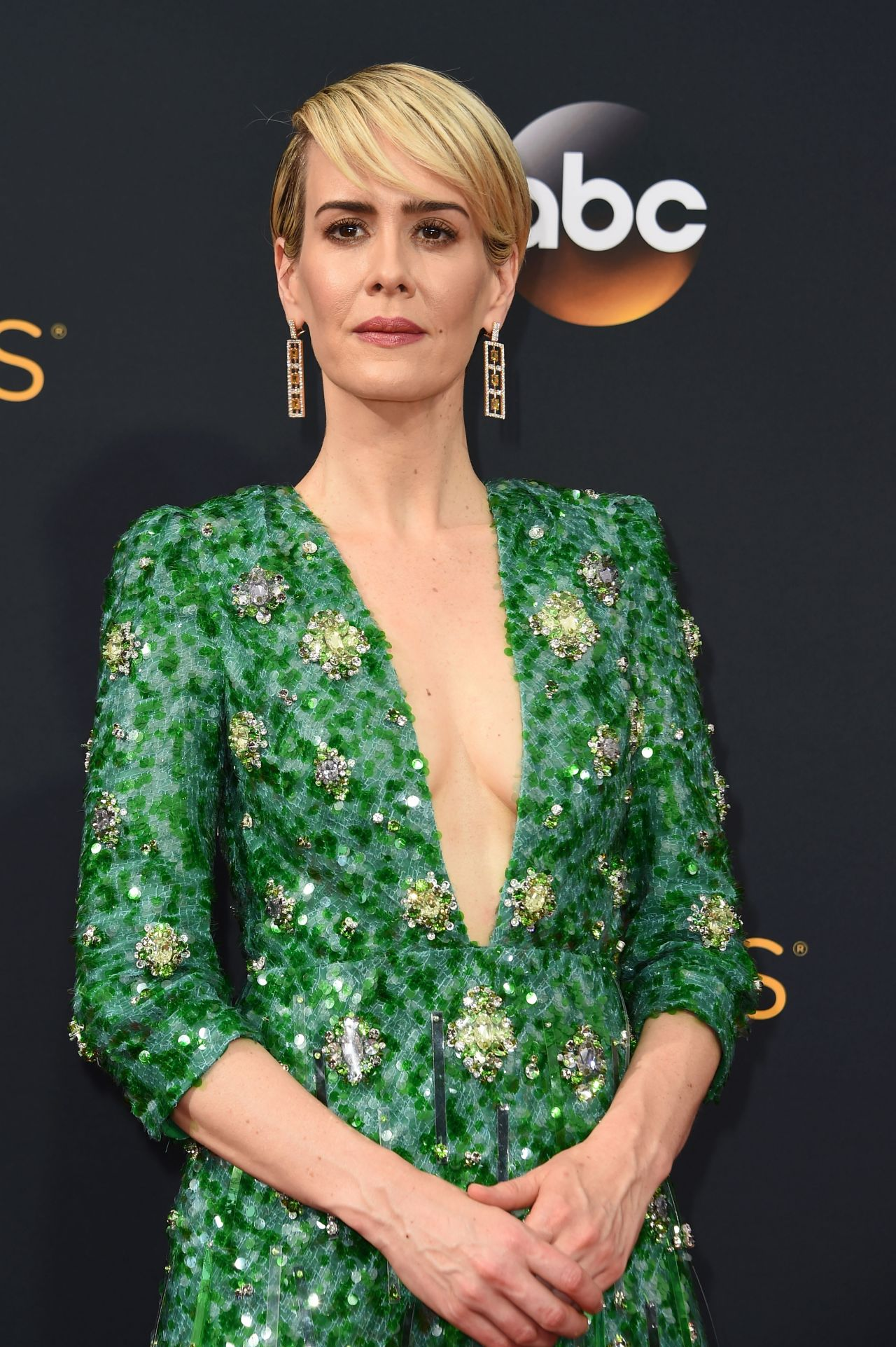 Sarah Paulson 68th Annual Emmy Awards In Los Angeles 09