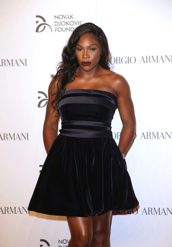 Serena Williams - Novak Djokovic Foundation Gala Dinner in Milan,Italy 9/20/2016