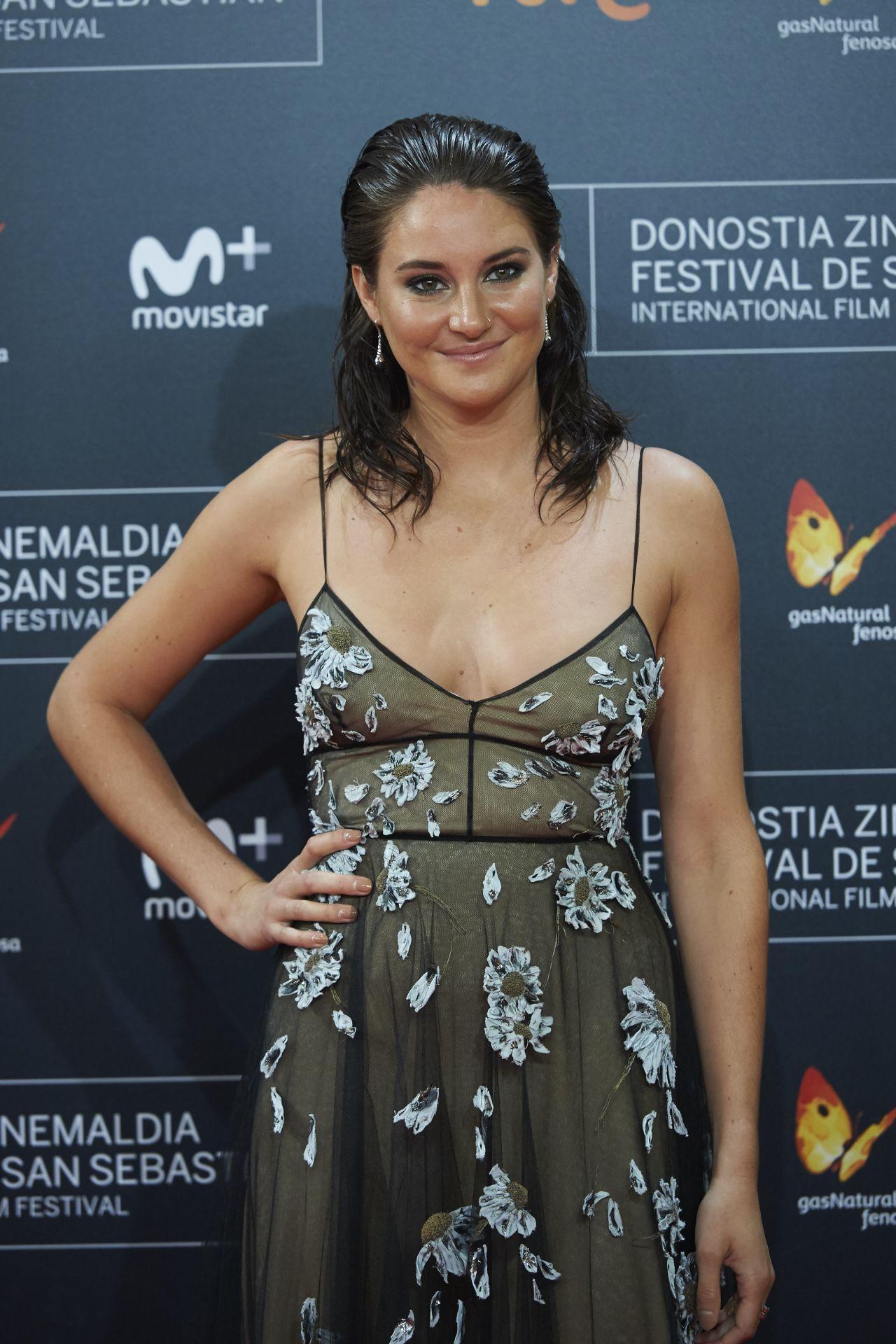 Shailene Woodley Snowden Premiere At San Sebastian