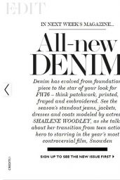 Shailene Woodley - The Edit Magazine September 2016 Issue