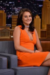 Shailene Woodley - The Tonight Show Starring Jimmy Fallon 09/13/2016