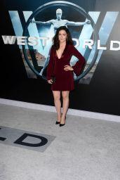 Shannon Woodward – HBO's Westworld Premiere in Los Angeles 9/28/2016