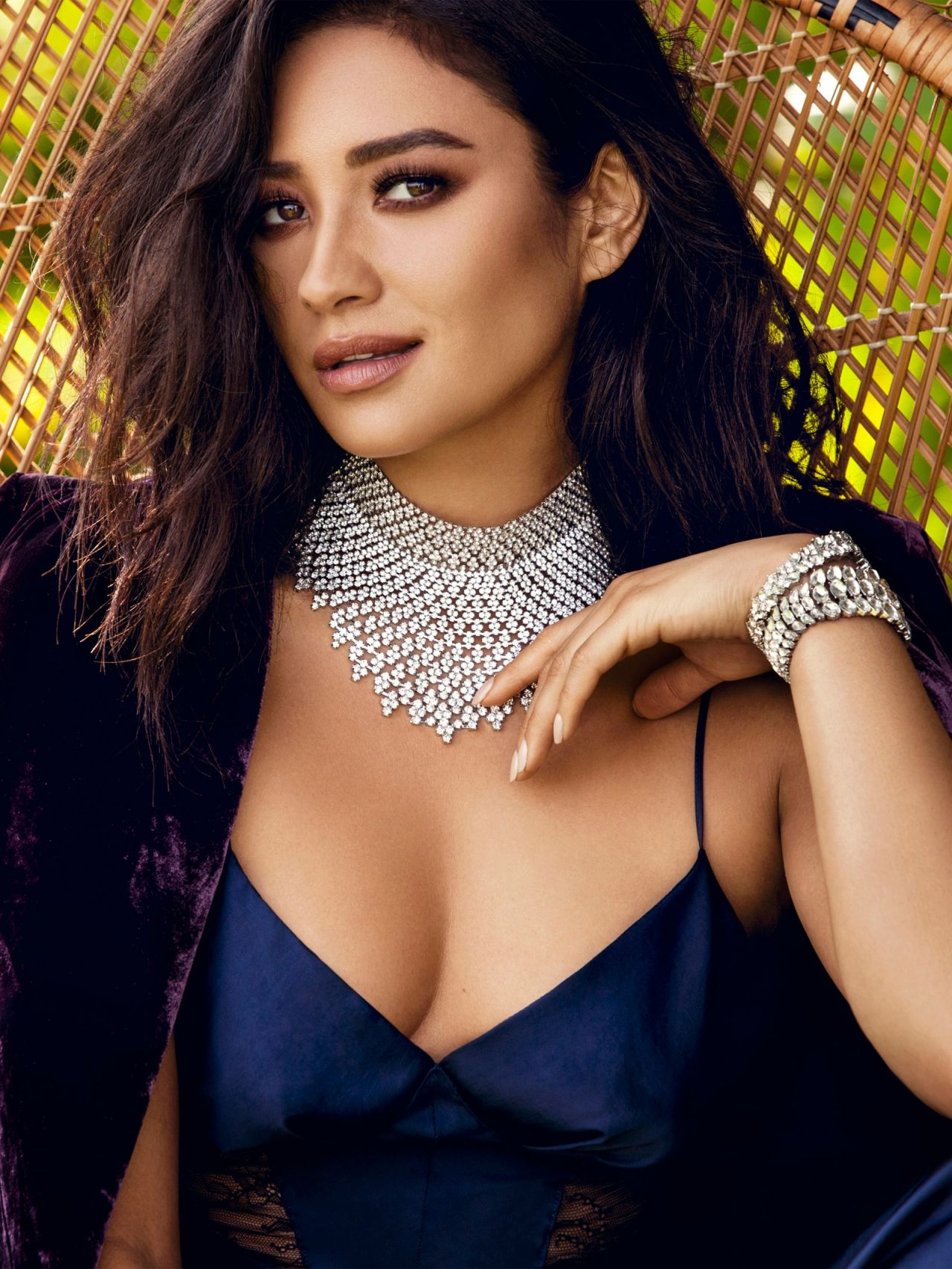 Shay Mitchell - Baublebar Jewelry 2016