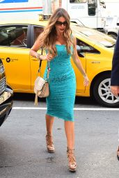Sofía Vergara is Looking All Stylish at FOX Studios in NYC 9/21/2016