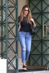 Sofia Vergara in Jeans - Leaving the Mayfair House in West Hollywood 9/13/2016