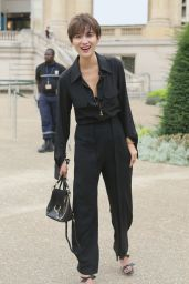 Song Jia – The Chloe Spring/Summer 2017 Show – in Paris Fashion Week 9/29/2016