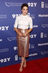 Sophia Bush - 2016 Social Good Summit in New York City 9/18/2016