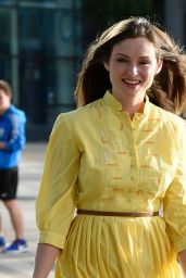 Sophie Ellis Bextor at the BBC Breakfast Studios in Manchester, UK 9/1/2016