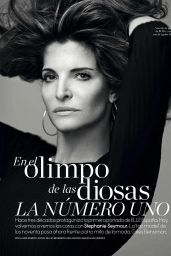 Stephanie Seymour - Elle Magazine España October 2016 Issue