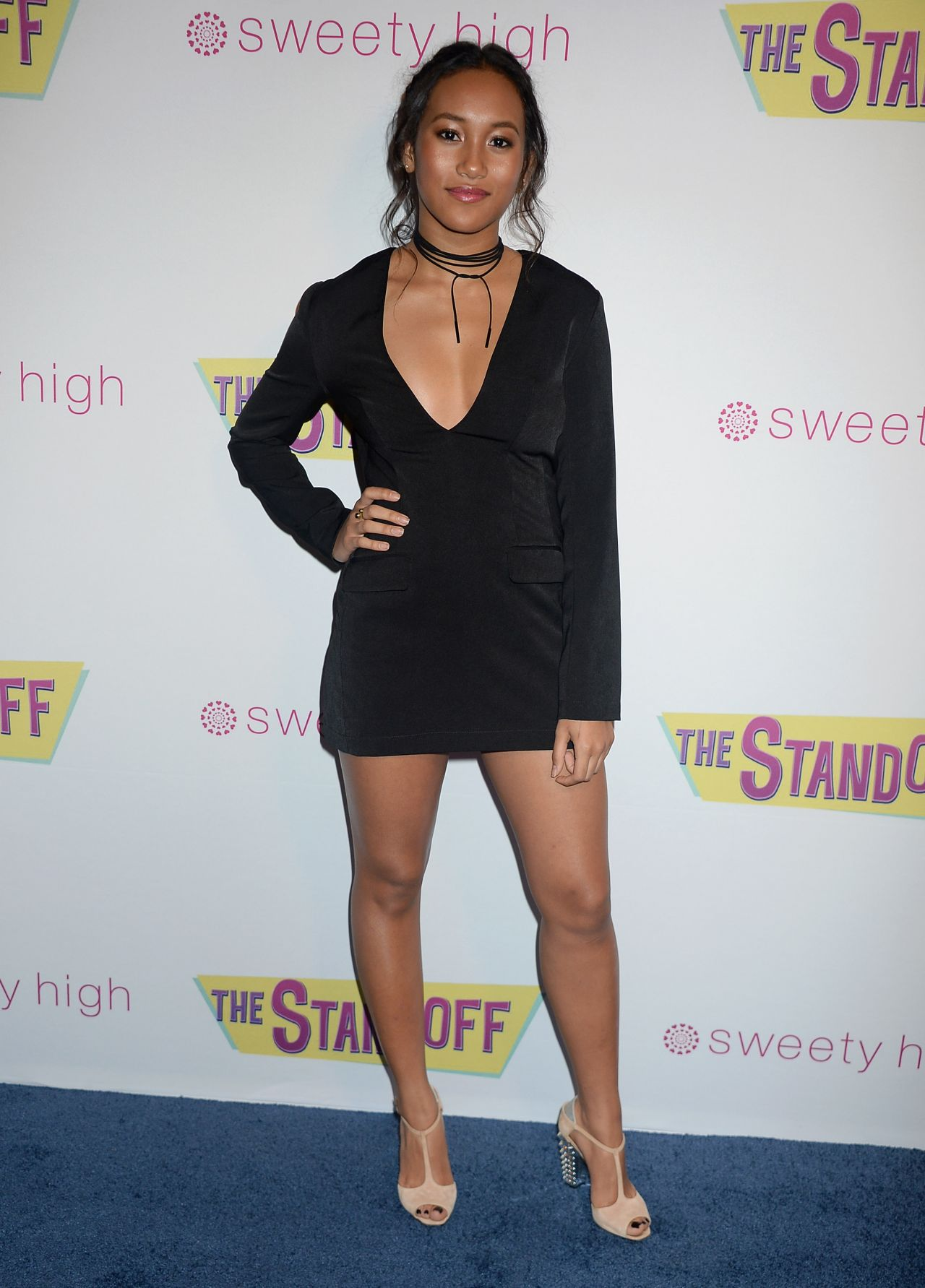 Sydney Park The Standoff Premiere In Los Angeles 9 8 2016