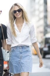 Taylor Hill and Romee Strijd Urban Style - Manhattan, NY 09/04/2016