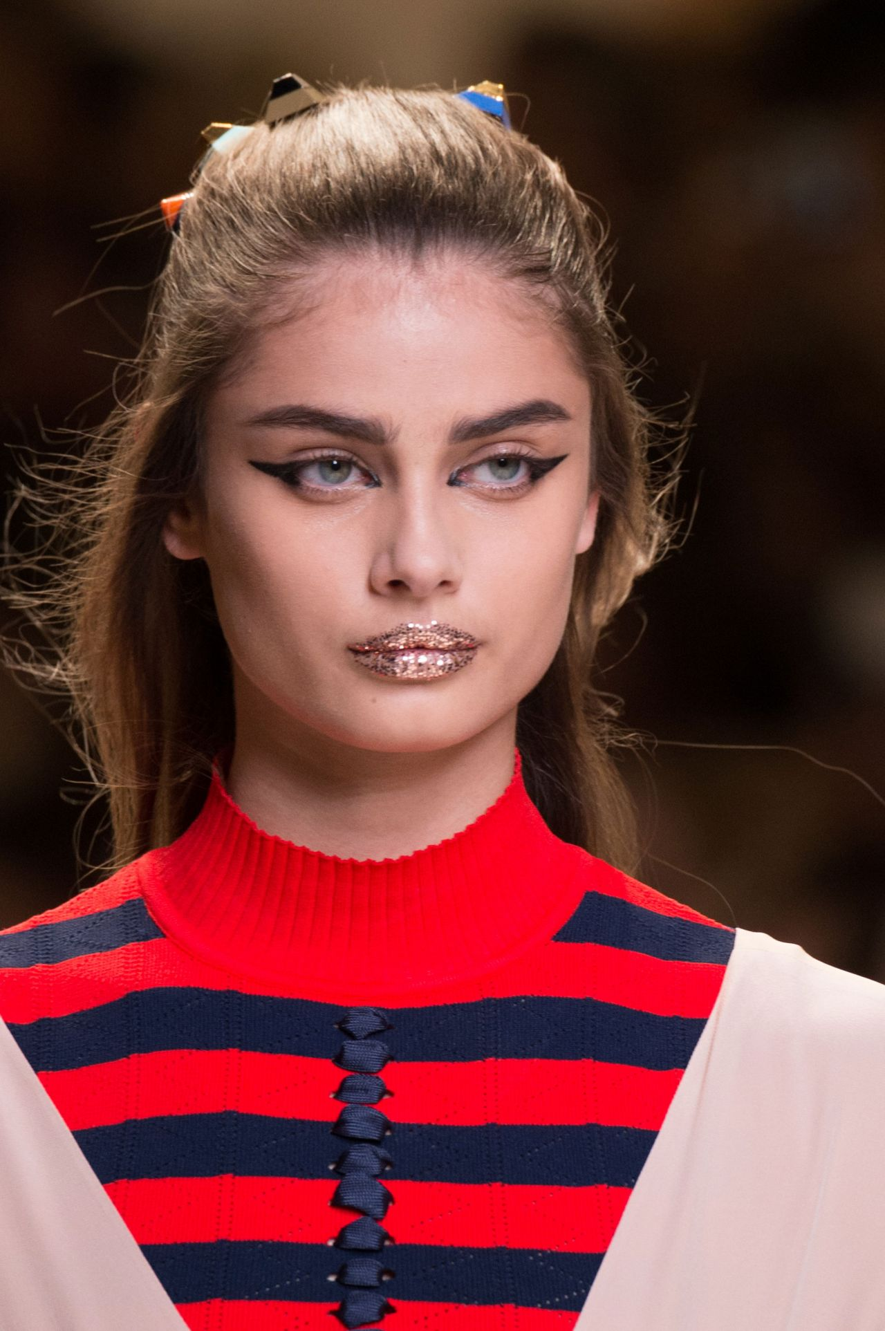 Taylor Hill Fendi S S 2017 Show In Milan September 2016