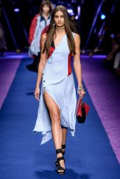 Taylor Hill - Versace S/S 2017 Show in Milan, September 2016