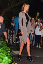Taylor Swift & Cara Delevingne Night Time Out Fashion - New York City 9/26/ 2016