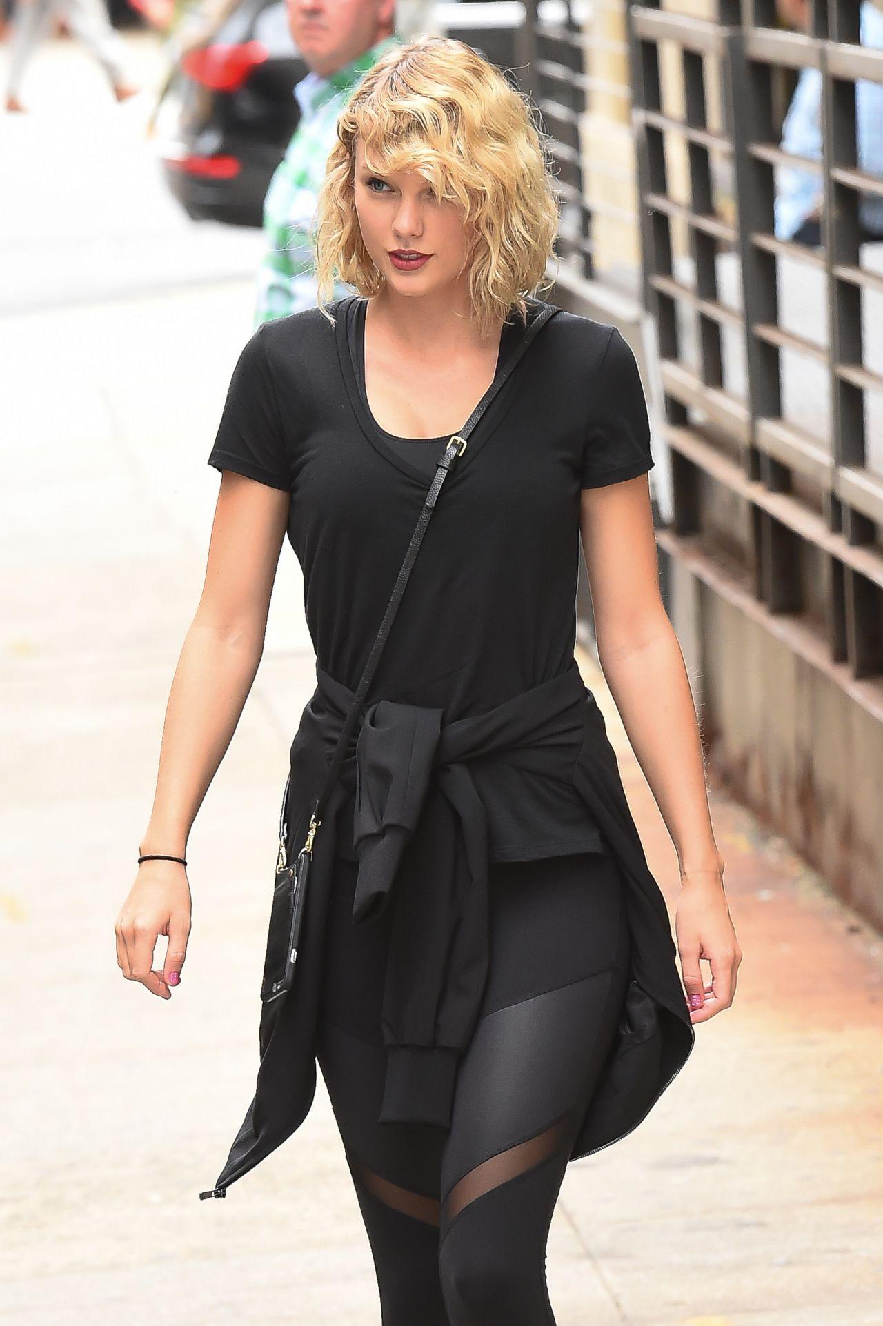 Taylor Swift Street Style New York City September 2016