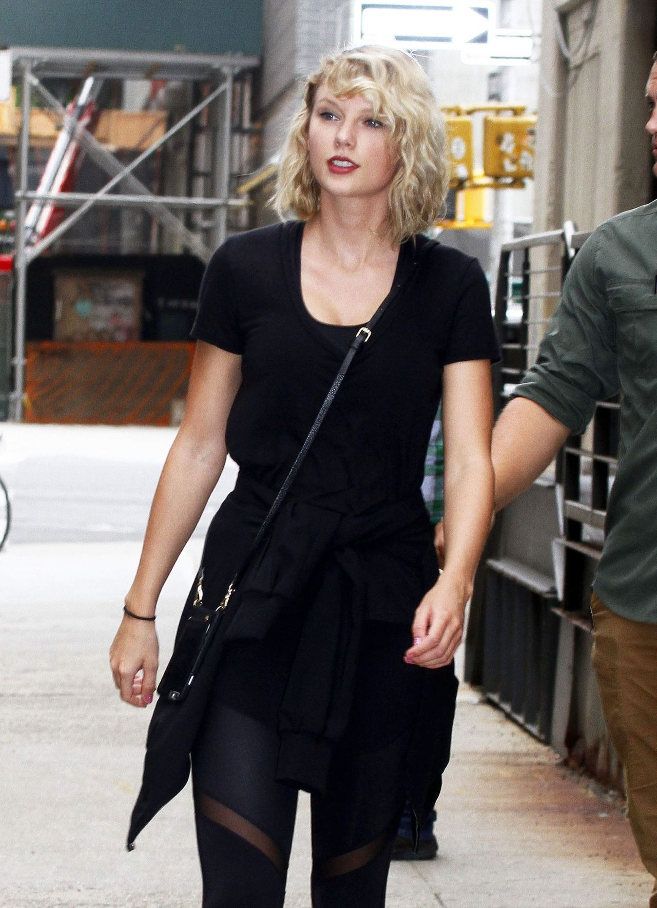 Taylor Swift Street Style New York City September 2016