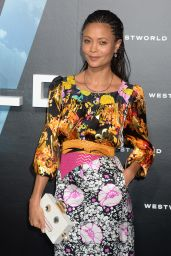 Thandie Newton – HBO's Westworld Premiere in Los Angeles 9/28/2016