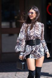 Victoria Justice Inspiring Style - Out in Tribeca 9/7/2016