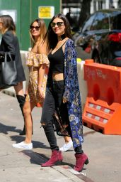 Victoria Justice Outfit Ideas - Shopping in NYC 9/9/2016