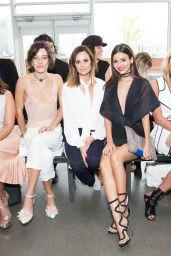 Victoria Justice - Pamella Roland S/S 2017 Fashion Show in New York, September 2016