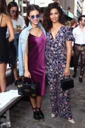 Victoria Justice - Rebecca Minkoff Front Row and Backstage at NYFW in New York 9/10/2016