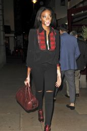 Winnie Harlow – Oliver Peoples Store Launch Party in London, UK 9/14/2016