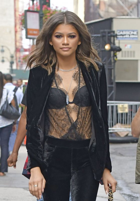 Zendaya Coleman Style - Out in NYC 9/9/2016