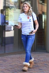AJ Michalka - Goes Shopping in Beverly Hills, CA 10/10/2016