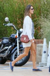 Alessandra Ambrosio at Soho House in Malibu 10/9/ 2016