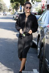 Alessandra Ambrosio - Out in Brentwood 10/5/2016