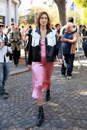 Alexa Chung at Miu Miu Show - Paris Fashion Week 10/5/2016