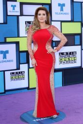 Alicia Machado – Latin American Music Awards in Hollywood 10/6/ 2016