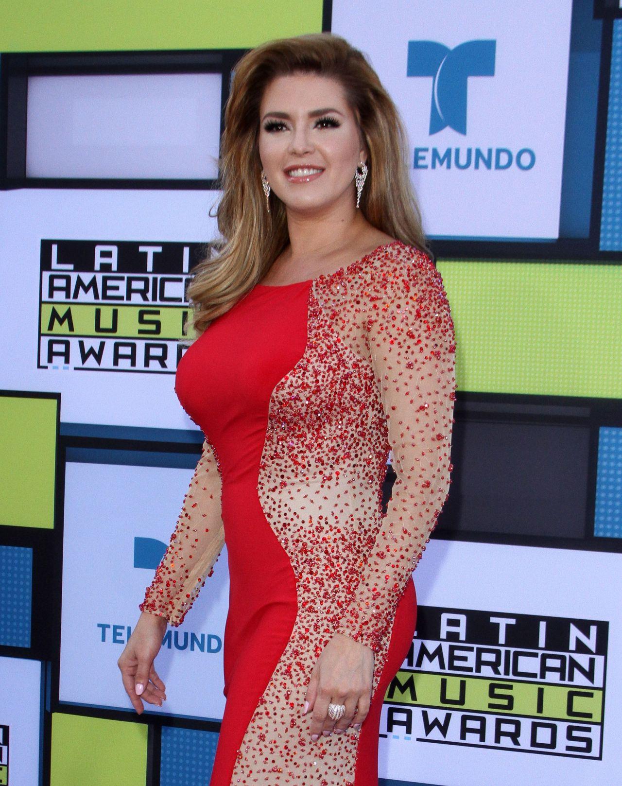 Alicia Machado – Latin American Music Awards in Hollywood ...