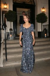 Alicia Vikander - Leaving Mortons Members Club in London 10/19/2016