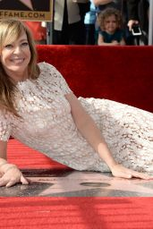 Allison Janney - Honored With Star on The Hollywood Walk of Fame, Los Angeles 10/17/2016