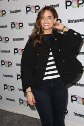 Amanda Peet – Entertainment Weekly PopFest in Los Angeles 10/30/ 2016