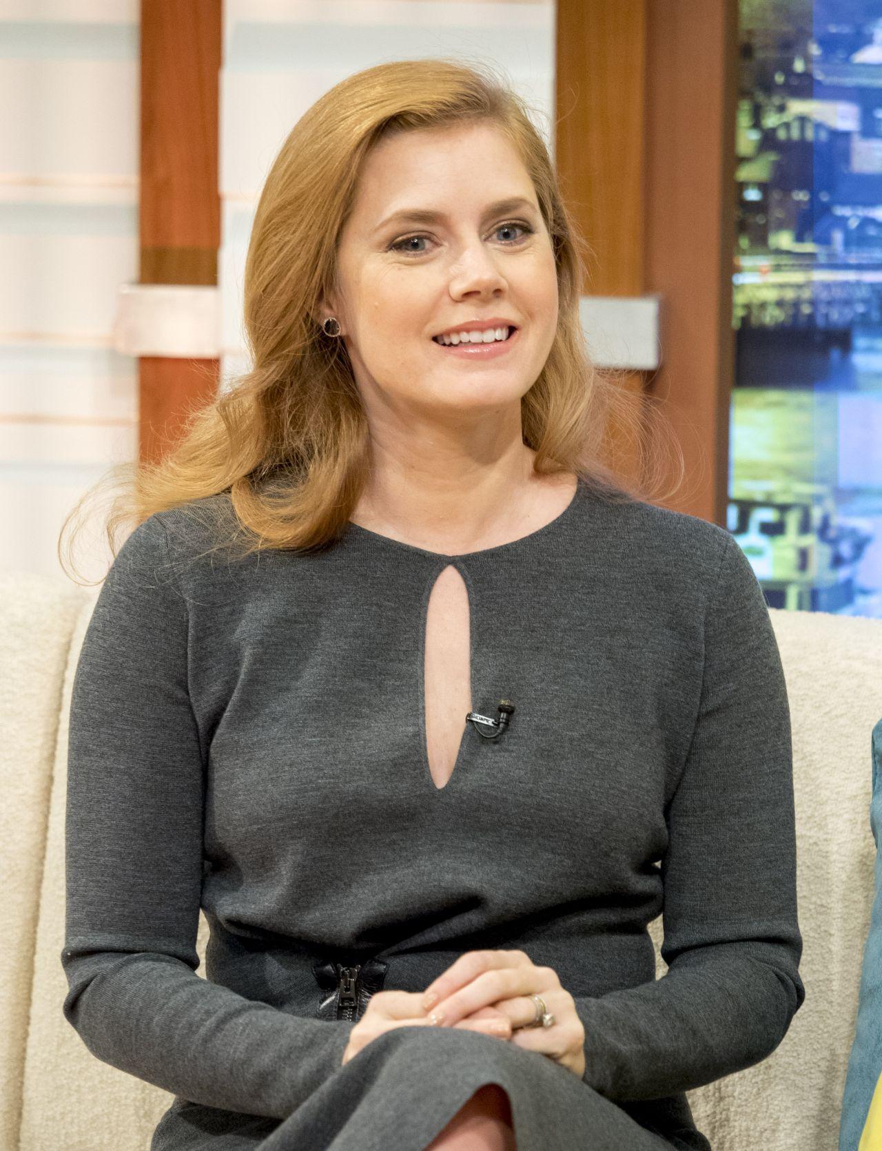 Celebrities-Trands: Amy Adams – Appeared on 'Good Morning ... Amy Adams