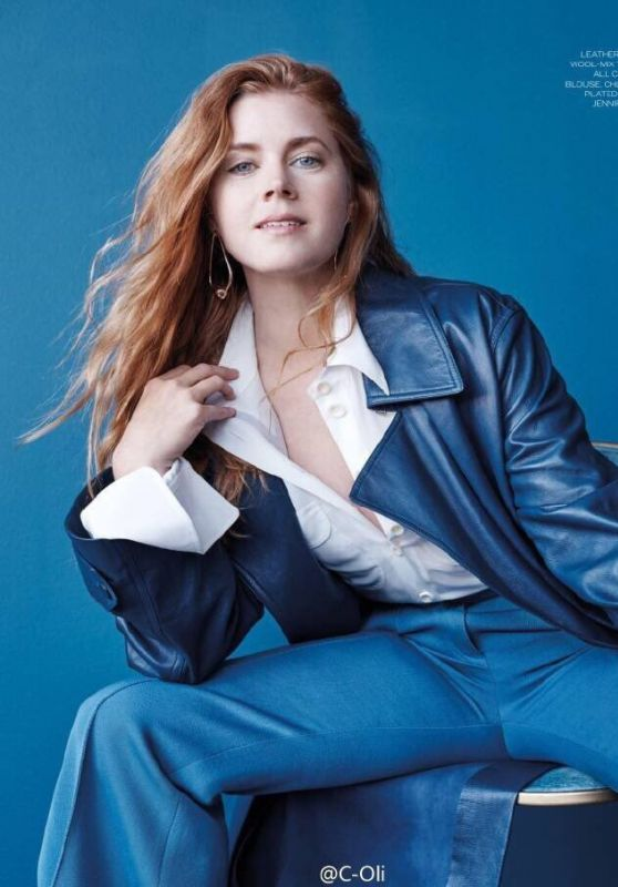 Amy Adams - ELLE Magazine UK, November 2016 Issue