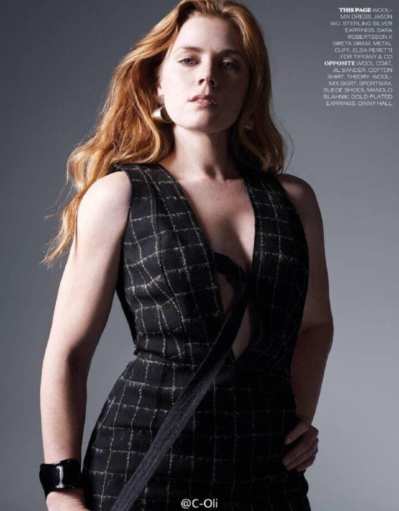 Amy Adams Elle Magazine Uk November 2016 Issue