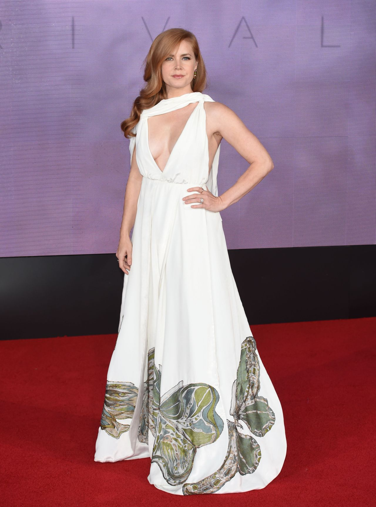 Amy Adams On Red Carpet Arrival Screening In London 10