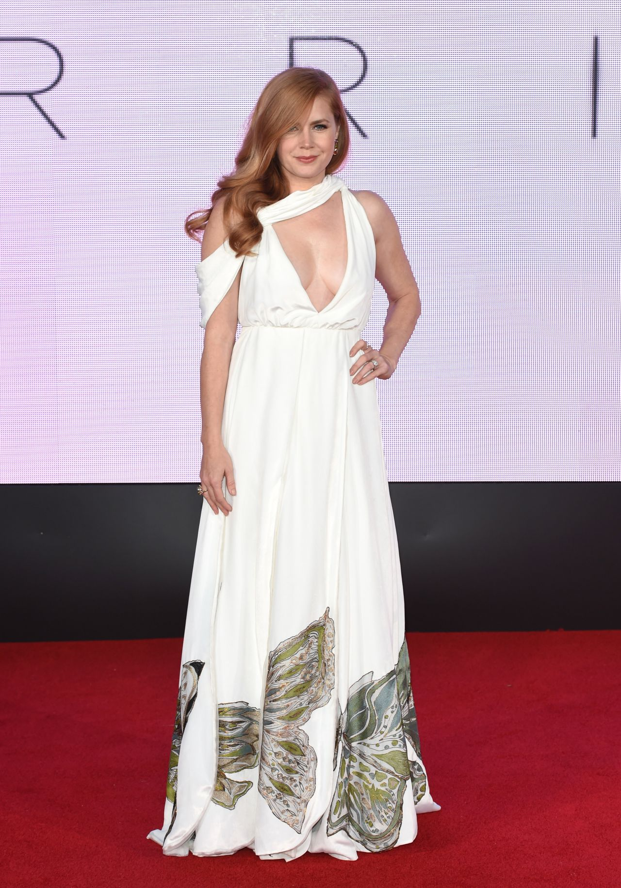 Amy Adams On Red Carpet Arrival Screening In London 10