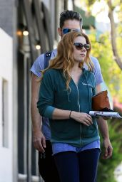 Amy Adams - Out With a Friend in Los Angeles 10/19/ 2016